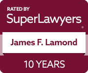 Super Lawyers badge (James Lamond)
